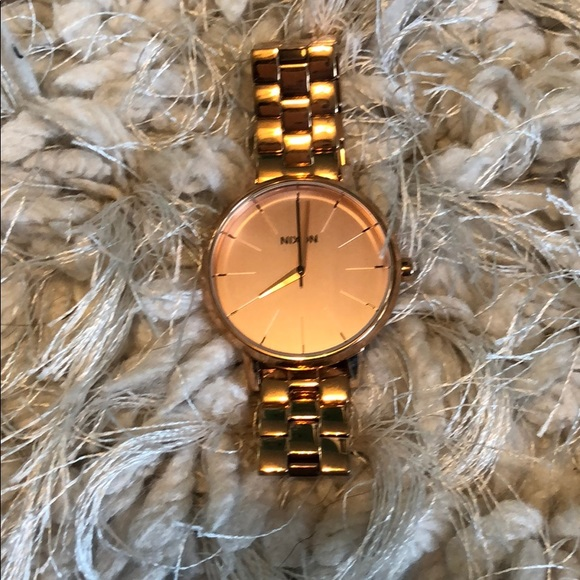 16386b56471638 Nixon Accessories | All Rose Gold Womens Watch | Poshmark